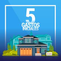 5 gastos al comprar casa